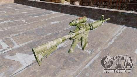 Automático carabina MA Guarda Camo para GTA 4 segundo screenshot