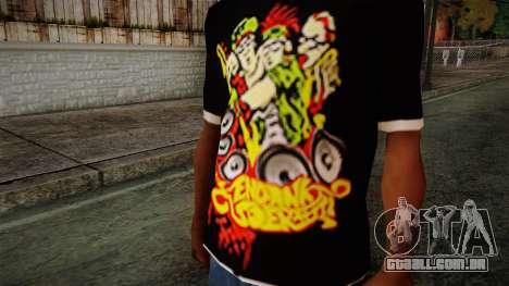 Endank Soekamti T-Shirt para GTA San Andreas terceira tela