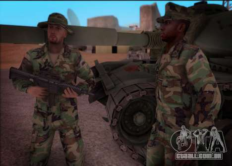90s California National Guard para GTA San Andreas terceira tela