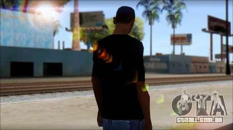 Dem Boyz T-Shirt para GTA San Andreas segunda tela