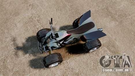 GTA V Nagasaki Blazer v2 para GTA 4 vista direita