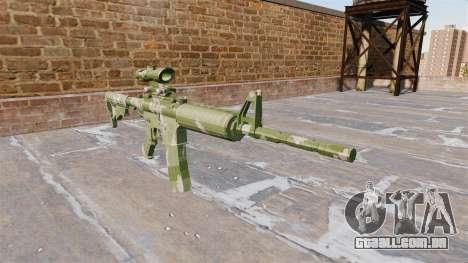 Automático carabina MA Guarda Camo para GTA 4