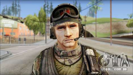 Nima GROM from Soldier Front 2 para GTA San Andreas terceira tela