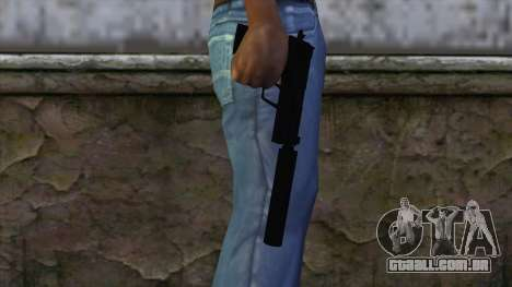 USP-S from CS:GO v2 para GTA San Andreas terceira tela