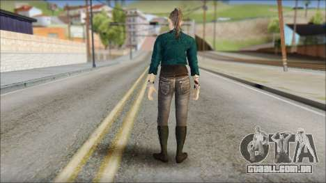 Clara Lille From Watch Dogs para GTA San Andreas segunda tela