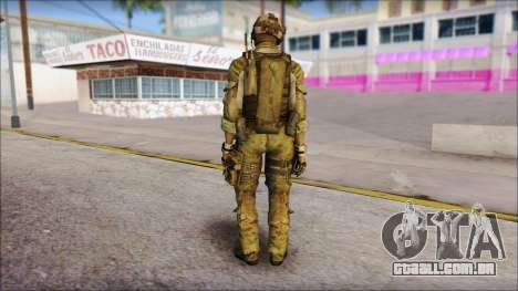 Truck from Modern Warfare 3 para GTA San Andreas segunda tela