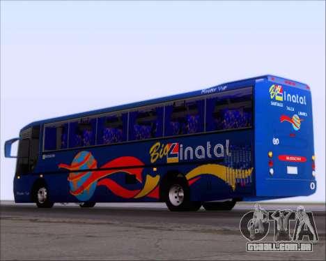 Busscar El Buss 340 Bio Linatal para GTA San Andreas vista direita