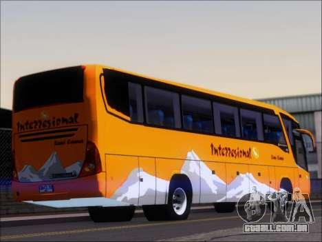 Marcopolo Viaggio 1050 G7 Buses Interregional para GTA San Andreas traseira esquerda vista