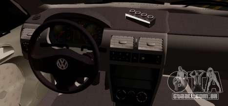 Volkswagen Golf G3 para GTA San Andreas traseira esquerda vista