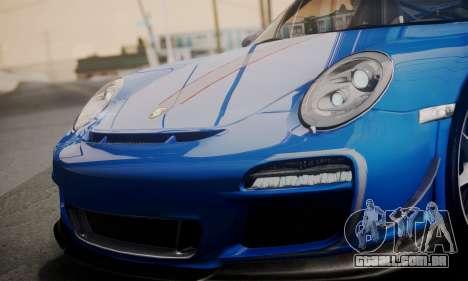Porsche 911 GT3 RS4.0 2011 para o motor de GTA San Andreas