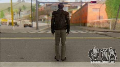 Leon .S.Kennedy v1 para GTA San Andreas segunda tela