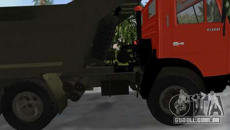 KamAZ 5511 para GTA Vice City vista direita