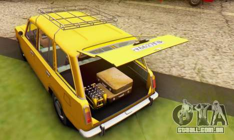 VAZ 2102 Escoamento para o motor de GTA San Andreas