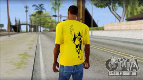 Bud Spencer And DAnusKO T-Shirt para GTA San Andreas segunda tela