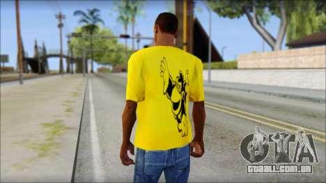 Bud Spencer And DAnusKO T-Shirt para GTA San Andreas segunda tela