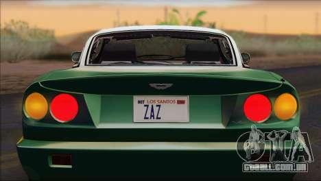 Aston Martin V8 Vantage V600 1998 para GTA San Andreas vista direita