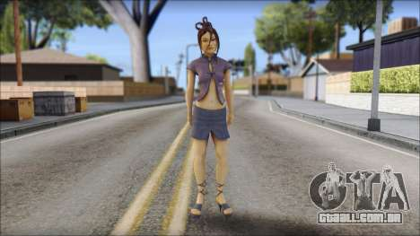 Girl on heels para GTA San Andreas