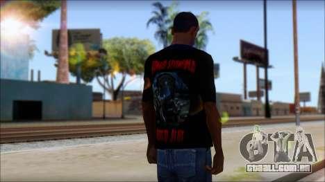 A7X Buried Alive Fan T-Shirt v1 para GTA San Andreas segunda tela