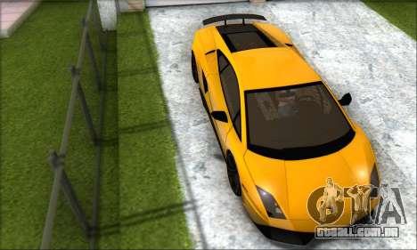 Lamborghini Gallardo LP570 Superleggera para GTA San Andreas esquerda vista