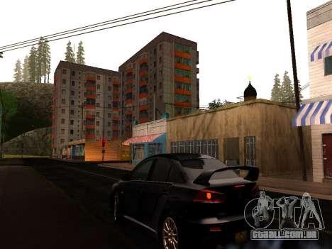 ENB por Makar_SmW86 v5.5 para GTA San Andreas segunda tela