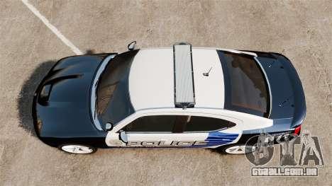 Dodge Charger SRT8 2010 [ELS] para GTA 4 vista direita