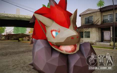 Zoroark from Pokemon para GTA San Andreas terceira tela