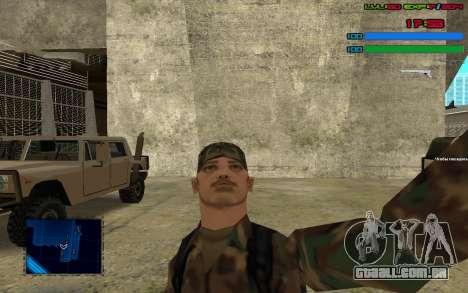 C-HUD by SampHack v.7 para GTA San Andreas