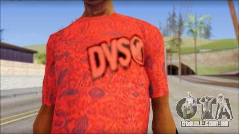 DVS T-Shirt para GTA San Andreas terceira tela