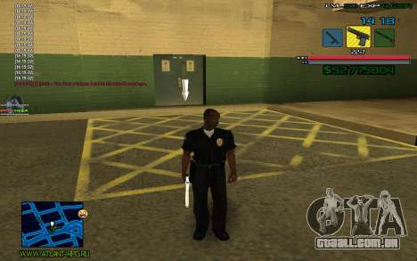 C-HUD by SampHack v.3 para GTA San Andreas segunda tela