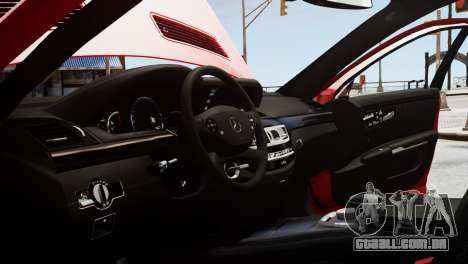 Mercedes-Benz S65 W221 AMG v1.3 para GTA 4 vista superior