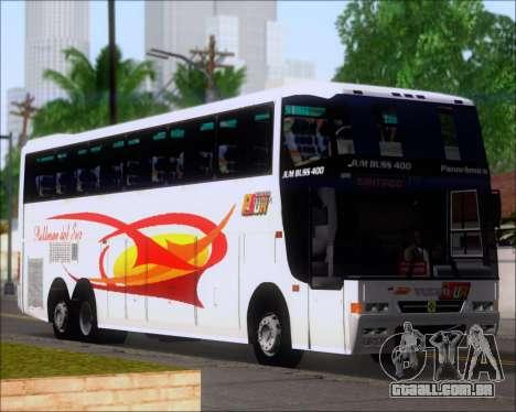 Busscar Jum Buss 400 Volvo B10R Pullman Del Sur para as rodas de GTA San Andreas