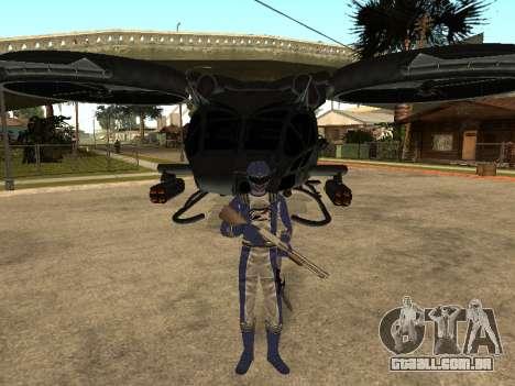 Power Rangers Operation Overdrive para GTA San Andreas oitavo tela