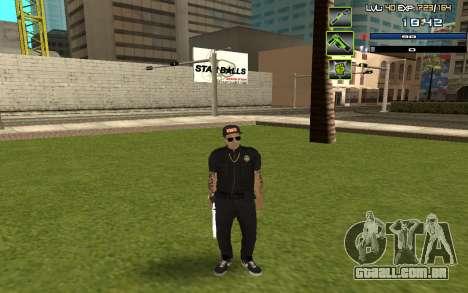C-HUD by SampHack v.5 para GTA San Andreas segunda tela