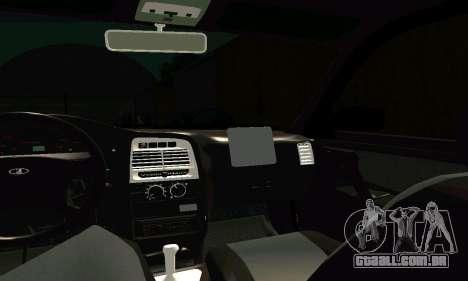 VAZ 21123 Turbo para GTA San Andreas vista superior