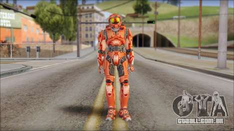 Masterchief Red from Halo para GTA San Andreas