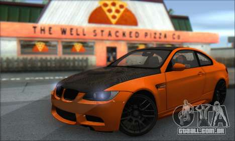 BMW M3 E92 Soft Tuning para GTA San Andreas