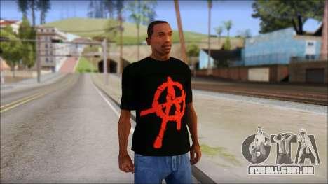Anarchy T-Shirt Mod v2 para GTA San Andreas