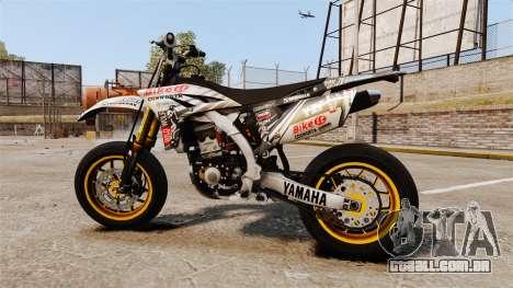 Yamaha YZF-450 v1.20 para GTA 4 esquerda vista