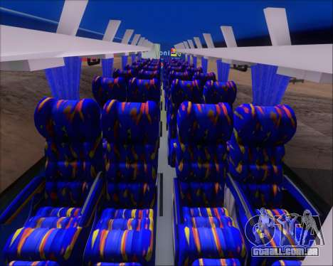 Busscar El Buss 340 Bio Linatal para GTA San Andreas vista inferior