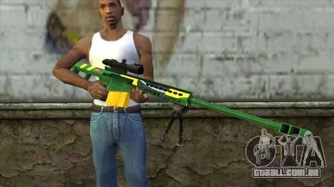 M82A3 Brazil Camo para GTA San Andreas terceira tela
