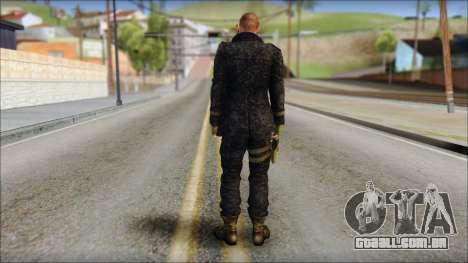 Jake Muller from Resident Evil 6 v1 para GTA San Andreas segunda tela