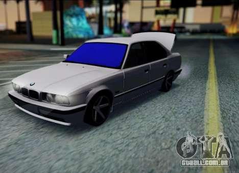 BMW 520i E34 para GTA San Andreas