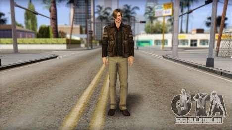 Leon Kennedy from Resident Evil 6 v2 para GTA San Andreas