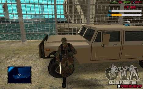 C-HUD by SampHack v.7 para GTA San Andreas segunda tela