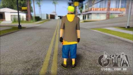 Urban DJ v3 para GTA San Andreas segunda tela
