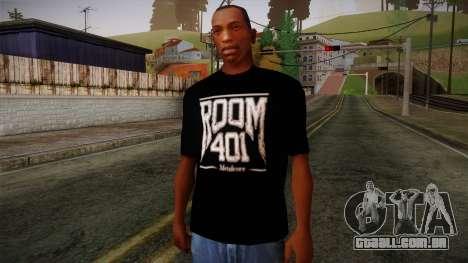 Room 401 T- Shirt para GTA San Andreas