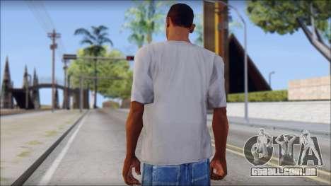 Mickey Mouse T-Shirt para GTA San Andreas segunda tela