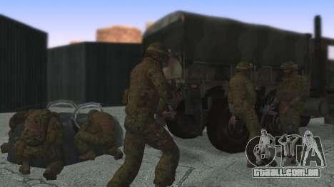 O comandante da CDI, EUA para GTA San Andreas terceira tela