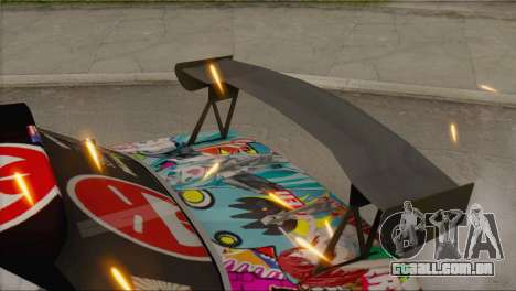 Nissan S13 MAD DRIFT para GTA San Andreas traseira esquerda vista