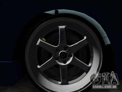 Honda NSX VeilSide para GTA San Andreas vista direita
